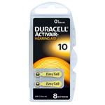 Duracell Activair batteri typ 10 8 st