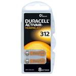 Duracell Activair batteri typ 312 8 st