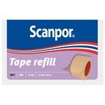 Scanpor Tape refill hudfärgad 2,5 cm x 10 m 12 st