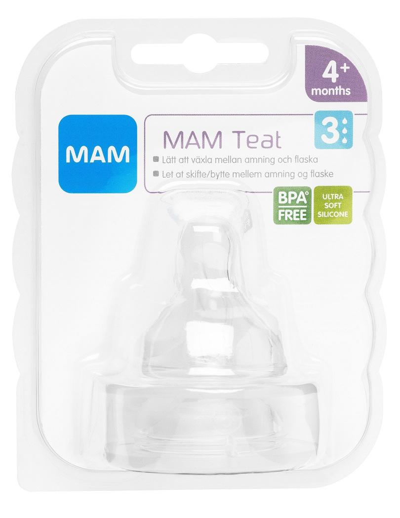 MAM Teat dinapp 2-pack - Apotek Hjärtat b5052657caf61