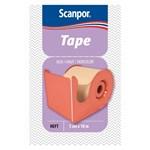 Scanpor Tape med hållare hudfärgad 5 cm x 10 m
