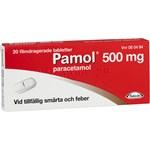 Pamol filmdragerad tablett 500 mg 20 st
