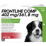 Frontline Comp Spot-on lösning för stor hund 402 mg/361,8 mg 3 x 4,02 ml