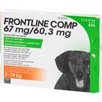 Frontline Comp Spot-on lösning för liten hund 67 mg/60,3 mg 3 x 0,67 ml