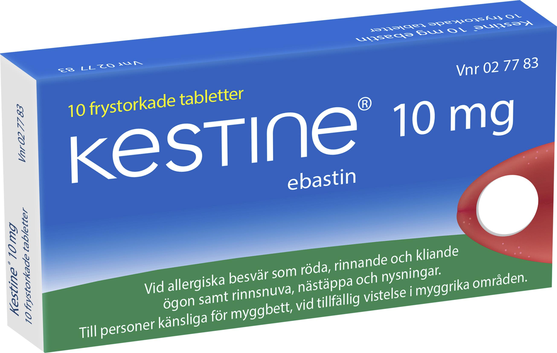 tabletter mot nästäppa