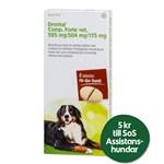 Drontal Comp. Forte vet. tablett 525 mg/504 mg/175 mg 8 st