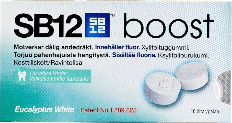 sb12 boost tuggummi