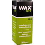 Wax off öronvaxlösning 30ml