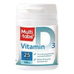 Multi-tabs D3 25 µg 180 st