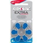 Rayovac EXTRA typ 675 blå 6 st