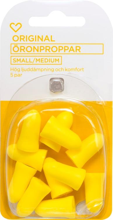 Hjärtats öronproppar small/medium 5 par