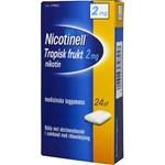 Nicotinell Tropisk frukt medicinskt tuggummi 2 mg 24 st