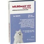 Milbemax vet. tuggtablett för hund (1-5 kg) 2,5 mg/25 mg 2 st