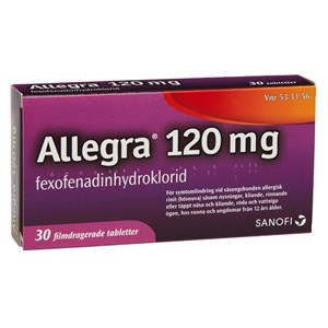 Allegra 120 mg side effects