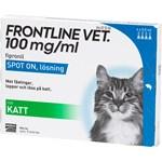 Frontline Vet. Spot-on lösning för katt 100 mg/ml 4 x 0,5 ml