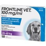 Frontline Vet. Spot-on lösning för hund 20-40 kg 100 mg/ml 4 x 2,68 ml