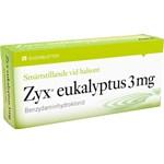 Zyx eukalyptus sugtablett 3 mg 20 st