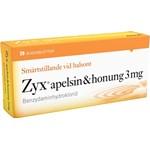 Zyx apelsin & honung sugtablett 3 mg 20 st