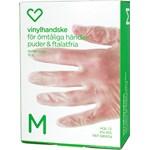 Hjärtats vinylhandske 10 st
