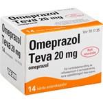 Omeprazol Teva enterokapsel 20 mg 14 st