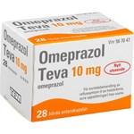 Omeprazol Teva enterokapsel 10 mg 28 st