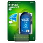 Nicorette Pepparmint sugtablett 2 mg 20 st