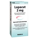 Lopacut Filmdragerad tablett 2mg Blister, 10tabletter