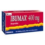 Ibumax Filmdragerad tablett 400mg Blister, 30tabletter