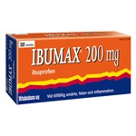 Ibumax Filmdragerad tablett 200mg Blister, 30tabletter