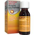 Nurofen Apelsin oral suspension 40 mg/ml 100 ml