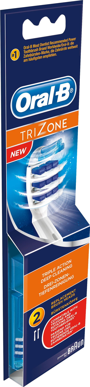Oral-B TriZone Borsthuvud Refill 2-pack - Eltandborstar - Apotek Hjärtat 03ff5d60edca9