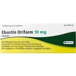Ebastin Orifarm filmdragerad tablett 10 mg 10 st