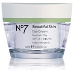 No7 Beautiful Skin Day Cream Normal/Oily SPF 15 50 ml