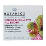 Botanics All Bright Hydrating Day Cream SPF 15