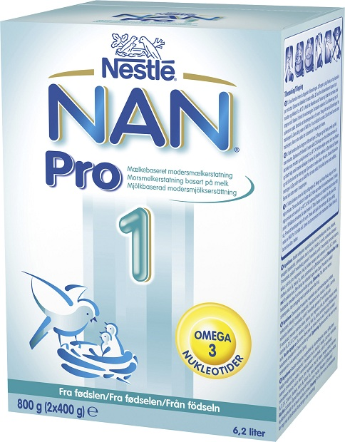 nan pro 1 dosering