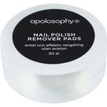 Apolosophy Nail Polish Remover Pads 30 st