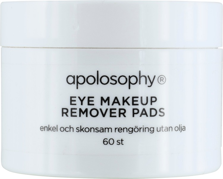 Apolosophy Eye Makeup Remover Pads 60 st
