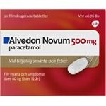 Alvedon Novum filmdragerad tablett 500 mg 20 st