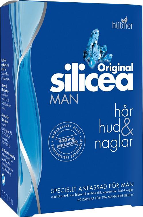 silicea kapslar biverkningar