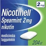 Nicotinell Spearmint medicinskt tuggummi 2 mg 204 st