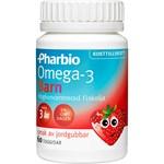 Pharbio Omega-3 Barn kapsel 60 st
