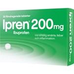 Ipren filmdragerad tablett 200 mg 30 st