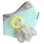 Malarkey Kids Buddy Bib Hakklapp Elefant