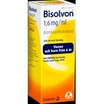 Bisolvon oral lösning 1,6 mg/ml 250 ml