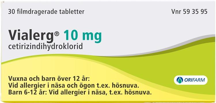 bra allergimedicin mot pollen
