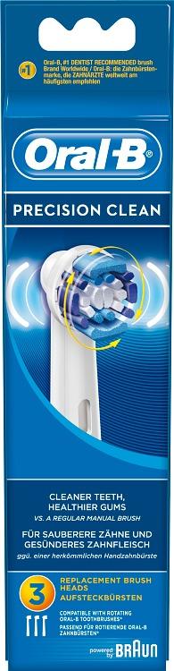 Oral-B Precision Clean Borsthuvud Refill 2-pack - Apotek Hjärtat 4b273dd89f483