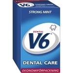 V6 Dental Care Strong Mint tuggummi