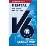 V6 Dental Care Strong Mint tuggummi 72g