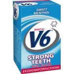V6 Strongteeth Menthol tuggummi 70g