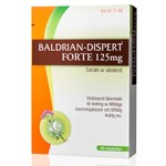 Baldrian-Dispert forte dragerad tablett 125 mg 50 st